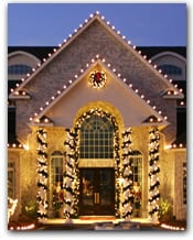 Christmas Light Installation by Christmas Lighting Installers