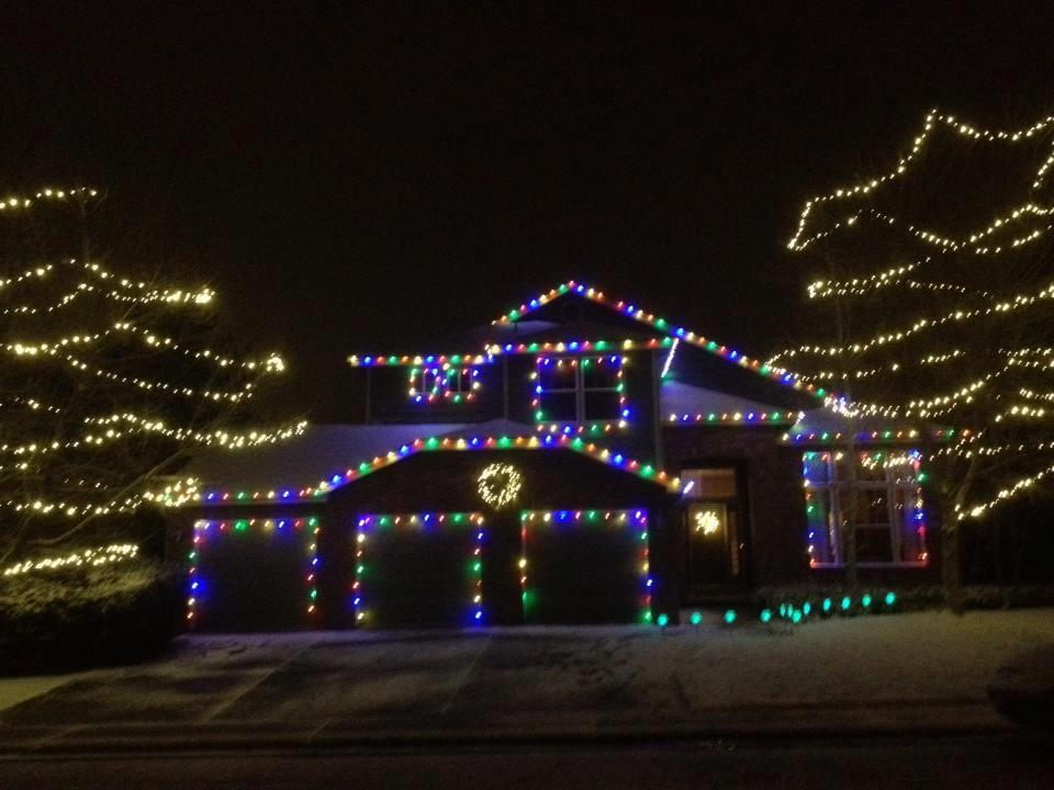 household christmas lighting services