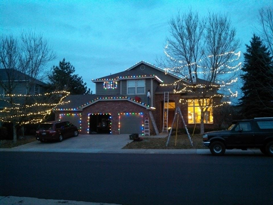 residential Christmas light installation and holiday decoration services